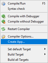 Compiling your programs